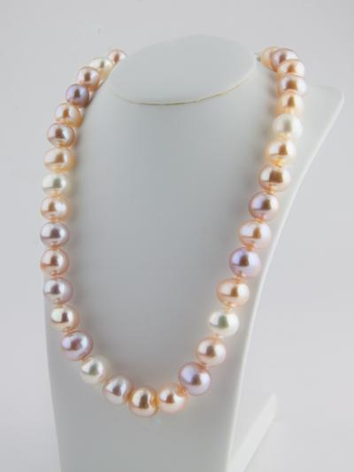 Pink Pearl Neclace